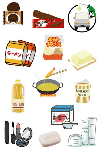 パーム油の用途