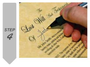 遺言書作成 署名